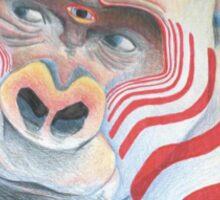 Transcendental Gorilla Sticker