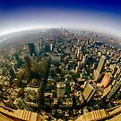 new york city skyline by Alexandr Grichenko