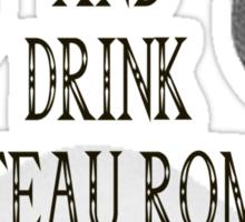 Drink Chateau Romani Sticker