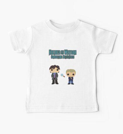Holmes and Watson Baby Tee