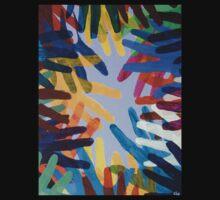 Rainbow Hands by George Hunter