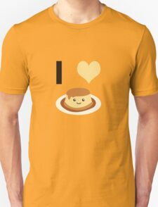 I heart (love) flan T-Shirt