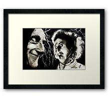 EYE-gore Framed Print
