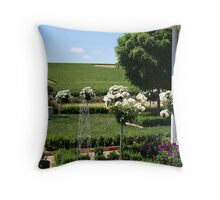 The Corner of the House Throw Pillow