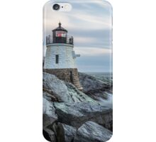 Castle Hill Lighthouse at Sunset iPhone Case/Skin