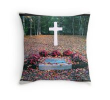 French Cross Throw Pillow