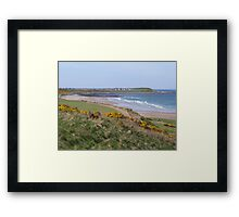 Banff Beach Framed Print