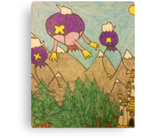 Pokemon:Drifloon and Driftblim Outing Canvas Print