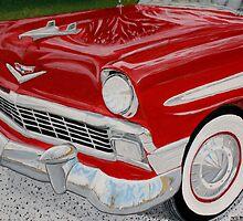 Chrome King, 1956 Chevy Bel Air by VJMaheu