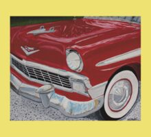 Chrome King, 1956 Chevy Bel Air One Piece - Short Sleeve