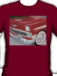 Chrome King, 1956 Chevy Bel Air T-Shirt