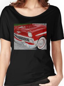 Chrome King, 1956 Chevy Bel Air Women's Relaxed Fit T-Shirt