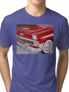 Chrome King, 1956 Chevy Bel Air Tri-blend T-Shirt