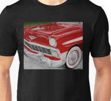 Chrome King, 1956 Chevy Bel Air Unisex T-Shirt