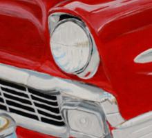 Chrome King, 1956 Chevy Bel Air Sticker