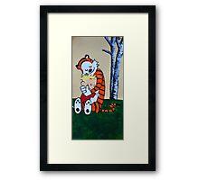Calvin & Hobbs Original Print Framed Print