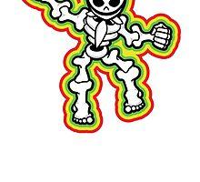 Funky Skeleton by BoxingRoo
