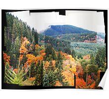 Autumn In Oregon  Poster