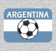 Football Argentina  One Piece - Long Sleeve