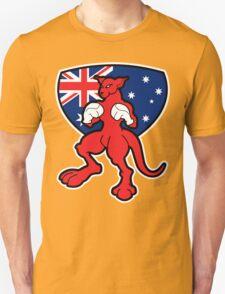 Boxing Kangaroo Australia T-Shirt