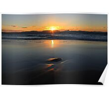 Sunset at Watego's Beach VI Poster