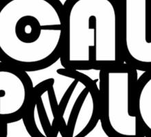 BECAUSE POLO Sticker