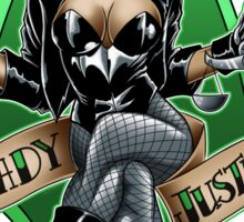 Lady Justice Sticker