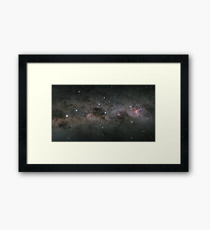 Southern Cross Framed Print