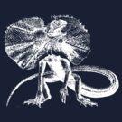 Frilled Lizard by Zehda
