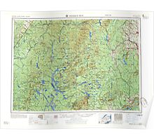 Maine USGS Historical Map Presque Isle 460779 1958 250000 Poster