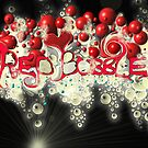 Red Bubble Logo V3 by bajidoo