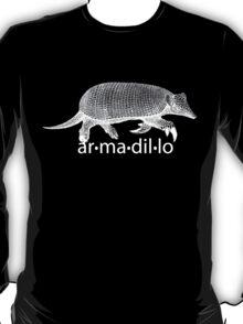 White Armadillo T-Shirt