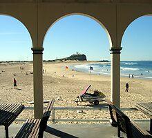 Nobby's Beach by Cheryl Parkes