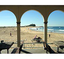 Nobby's Beach Photographic Print