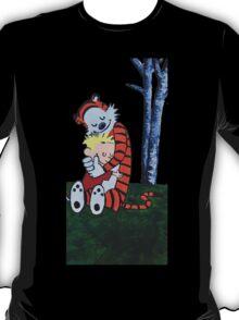 Calvin & Hobbes Transparent Print T-Shirt