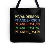 Paul Thomas Anderson Tote Bag