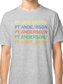 Paul Thomas Anderson Classic T-Shirt