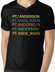 Paul Thomas Anderson Mens V-Neck T-Shirt