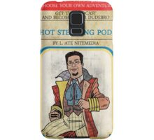 Choose your own podcast! Samsung Galaxy Case/Skin