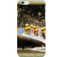 New River Whitewater Raft Spray iPhone Case/Skin