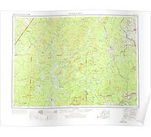 Maine USGS Historical Map Presque Isle 460783 1954 250000 Poster