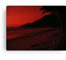 Red World Canvas Print