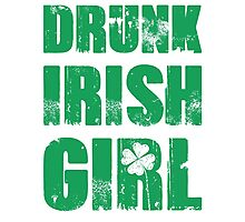 Drunk Irish Girl Photographic Print
