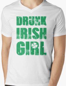 Drunk Irish Girl Mens V-Neck T-Shirt