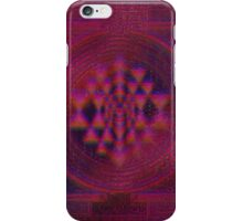 Holographic Sri Yantra iPhone Case/Skin