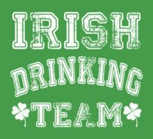 Irish Drinking Team by designbymike
