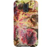 Fall leaf Samsung Galaxy Case/Skin