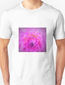 Gentle Floral Wave T-Shirt