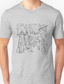 Tokyo Robot city thoughts.. T-Shirt