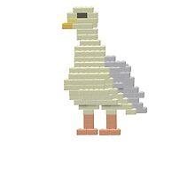 Building Block Seagull by DeadFish